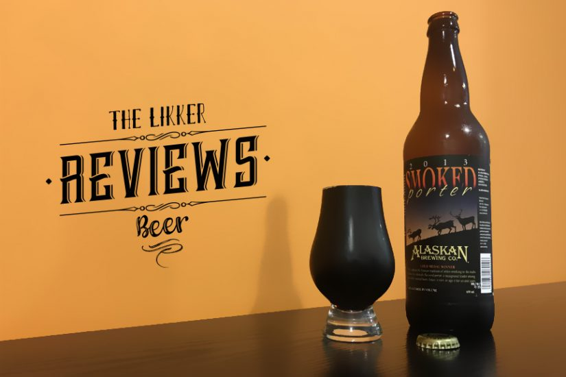 Smoked Porter Alaskan Brewing Company Beer the likker