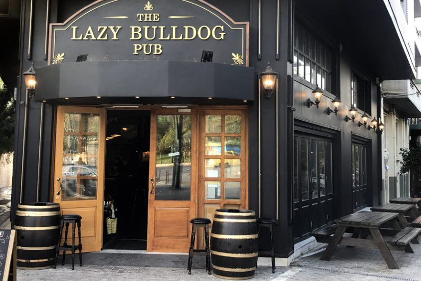 Lazy Bulldog Pub beer draught