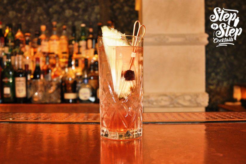 bartenders cocktail cocktails Odori Sling Step by Step Cocktails