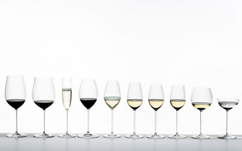 Riedel wine glass Γιάννης Καρακάσης ποτήρι κρασιού