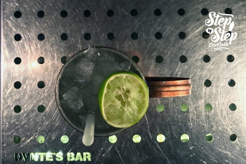 step by step cocktails moscow mule