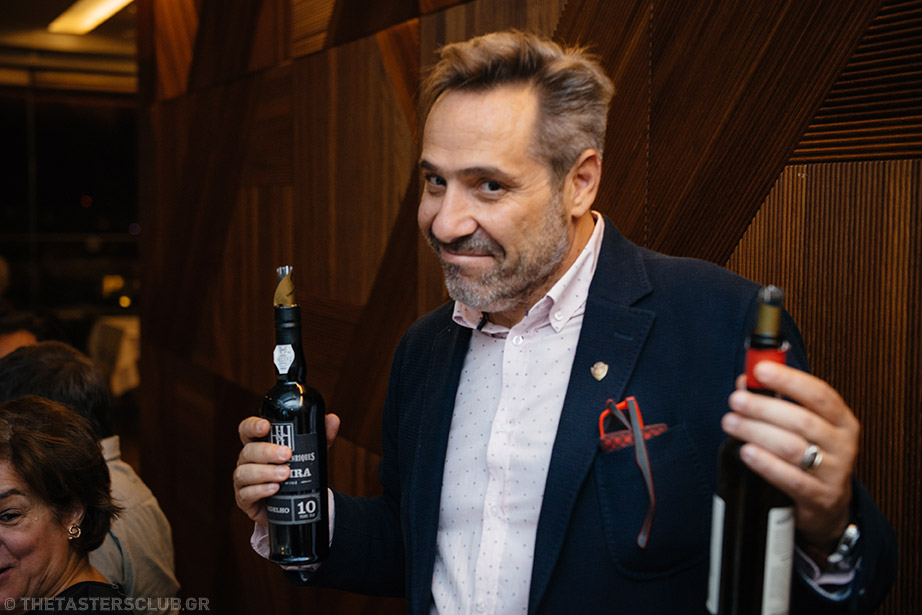 the tasters club wine tasting madeira electra metropolis Yiannis Karakasis MW