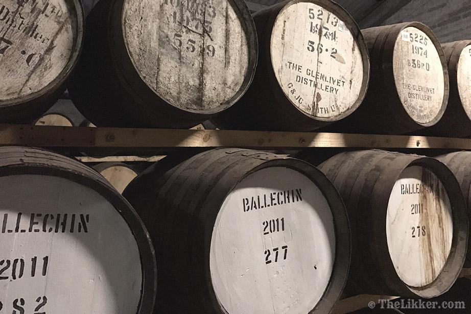 the tasters club the likker edradour whisky barrel ballechin glenlivet
