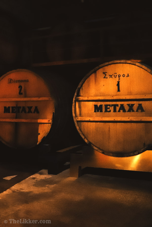 μεταξά metaxa tour the likker