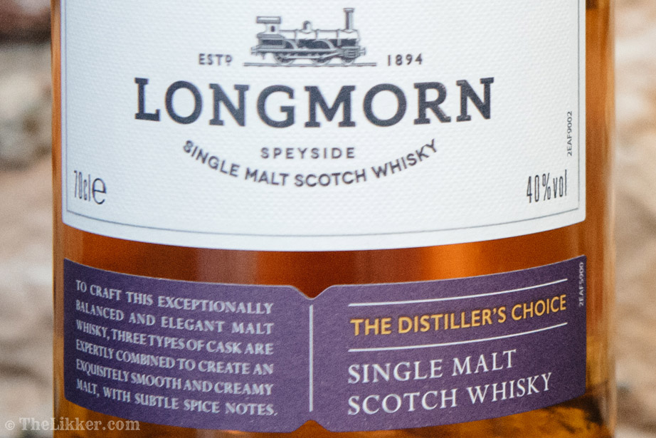 longmorn the distillers choice the likker review ουισκι