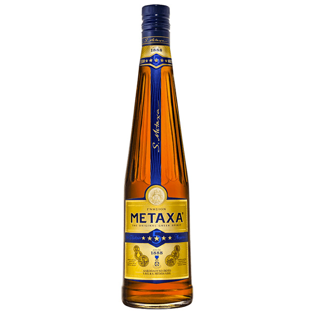 metaxa 5 stars bottle