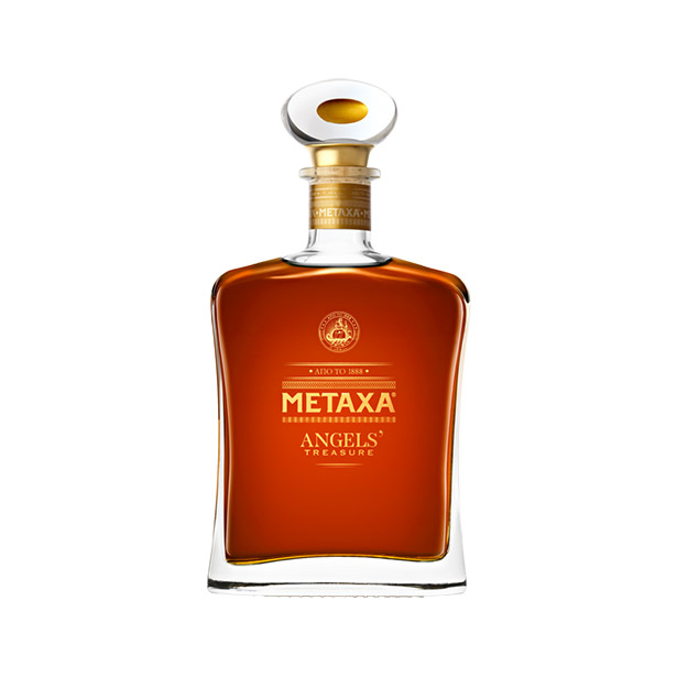 metaxa angels treasure bottle