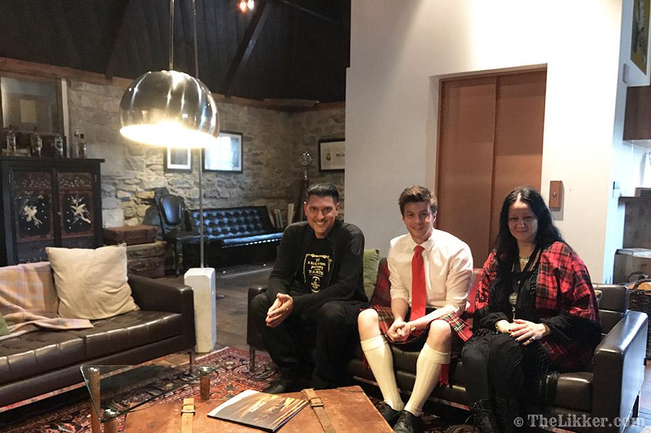 glenfiddich distillery fleming rooms