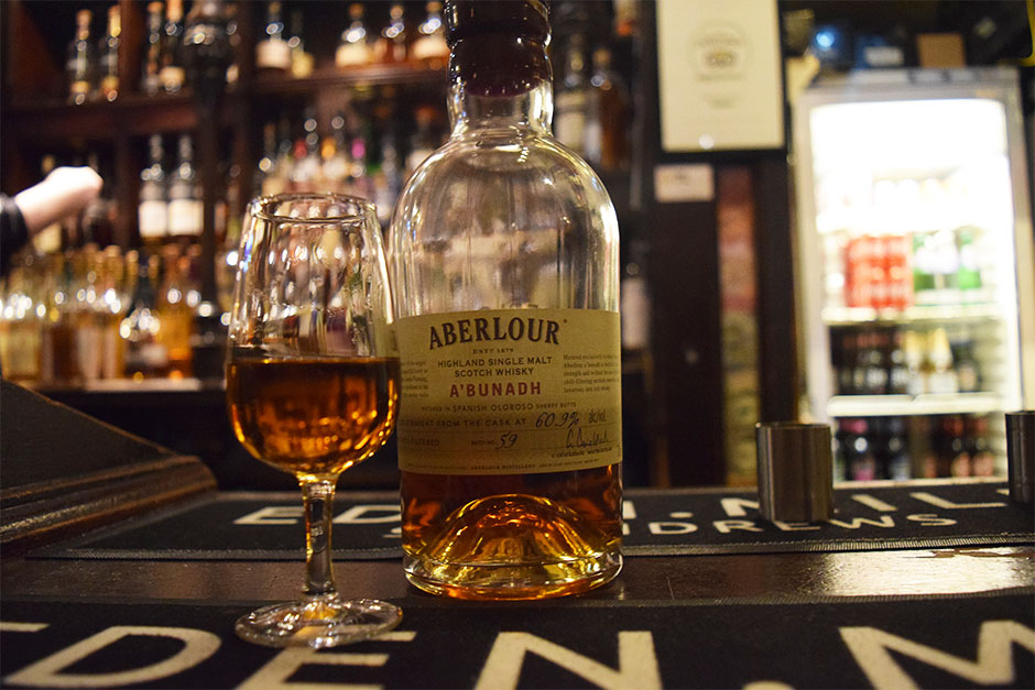 aberlour pot still bar whisky