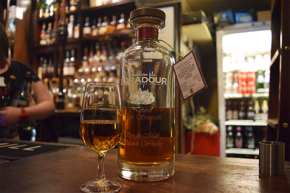 edradour pot still bar whisky