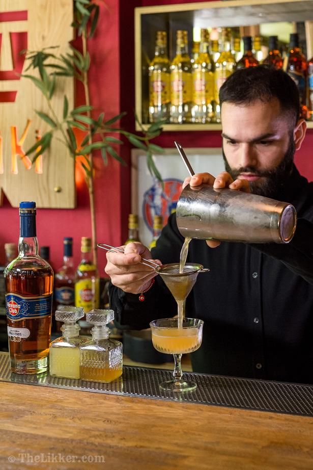 the likker step by step cocktails daiquiri havana club seleccion de maestros tiki bar athens vlachakis