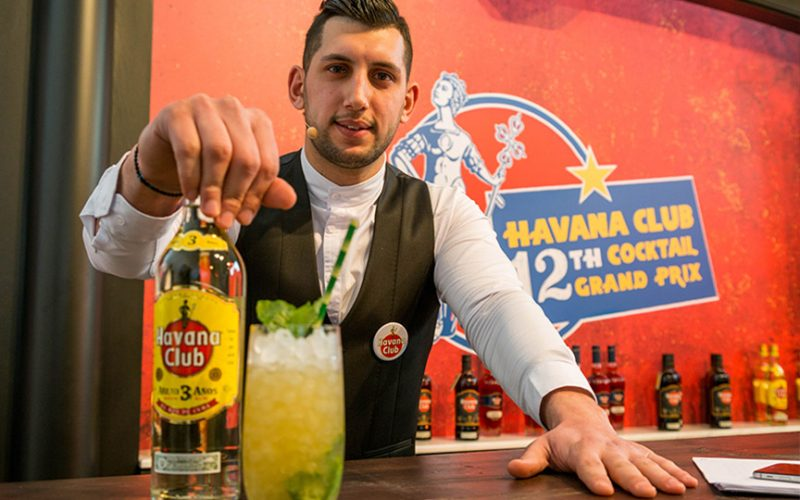behind the bar Thodoris Konstantinidis the likker