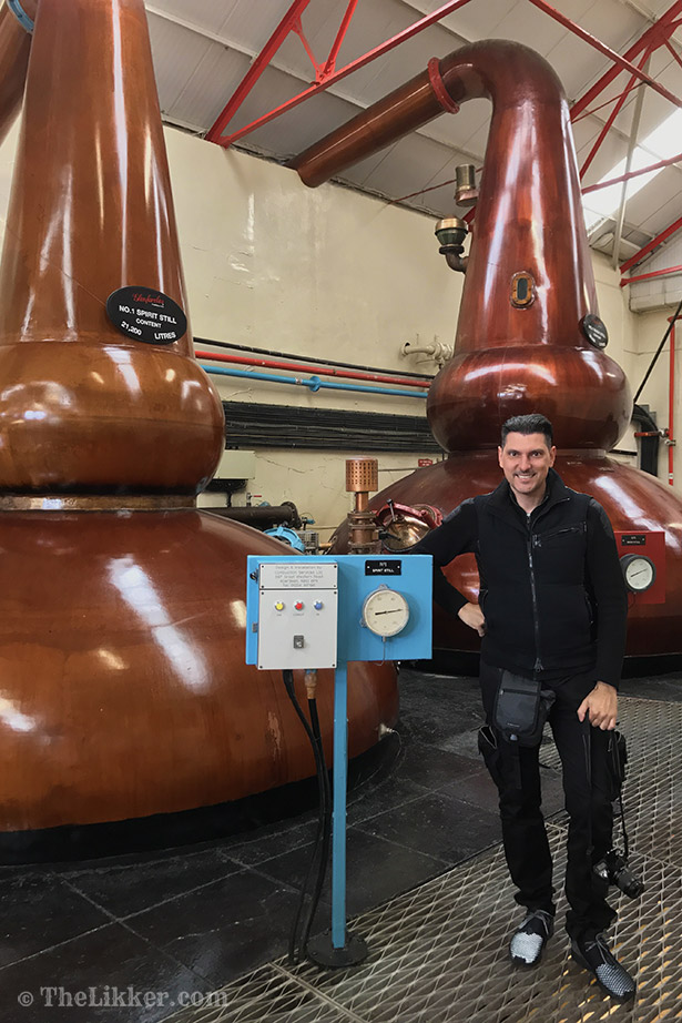 Glenfarclas Distillery whisky Milionis