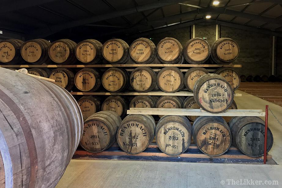 benromach distillery warehouse