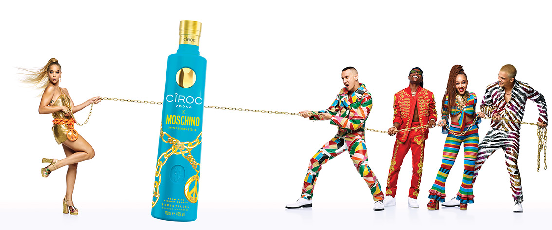 Ciroc Vodka Moschino