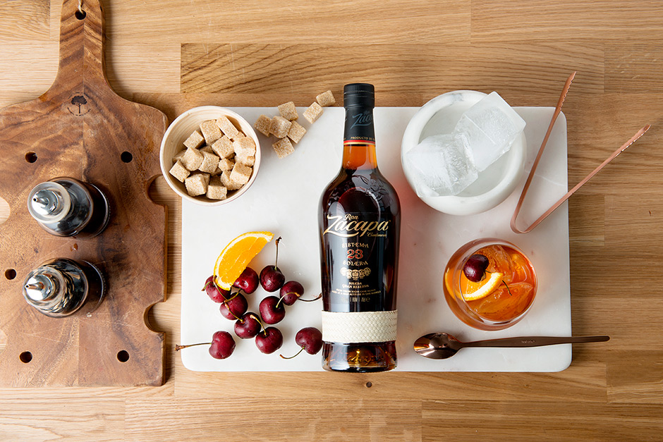 zacapa rum old fashioned
