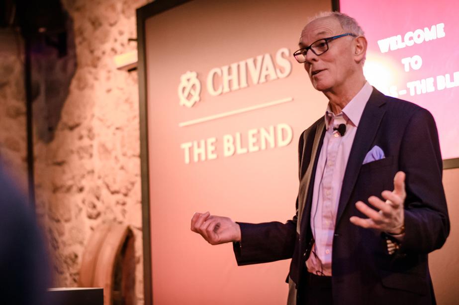 chivas the blend the tasters club Colin Scott