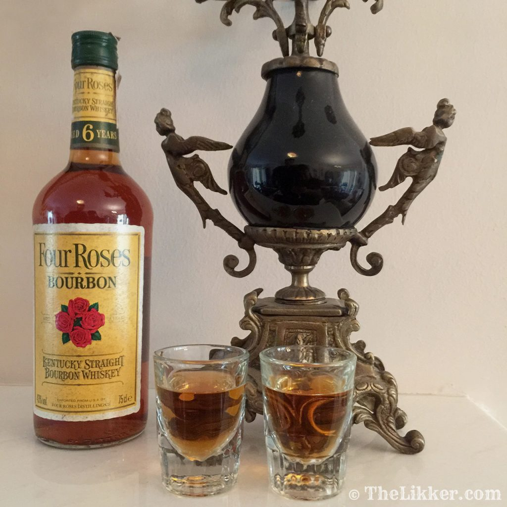 four roses whiskey bourbon the likker american