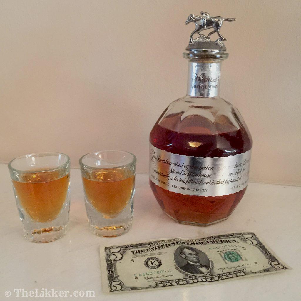 Blantons whiskey bourbon the likker american