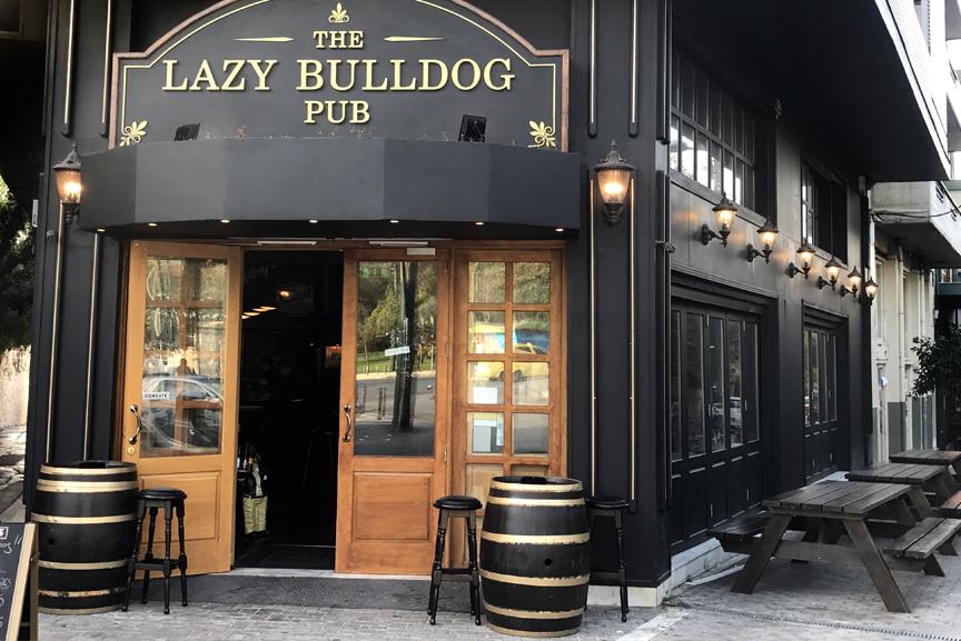 Lazy Bulldog Pub beer draught