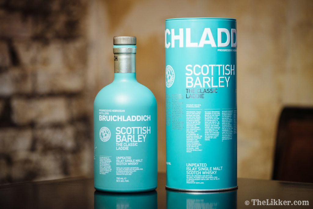 Bruichladdich whisky whisky tasting Port Charlotte Joanne Brown the tasters club the likker reviews