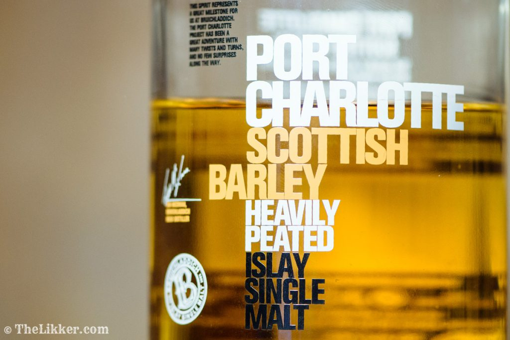 Bruichladdich whisky whisky tasting Port Charlotte Joanne Brown the tasters club the likker reviews port charlotte