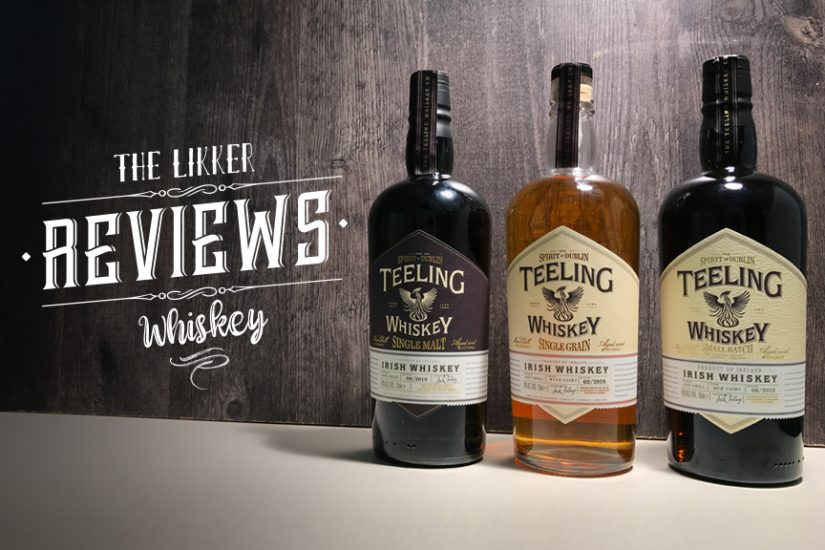 Teeling Irish whiskey likker