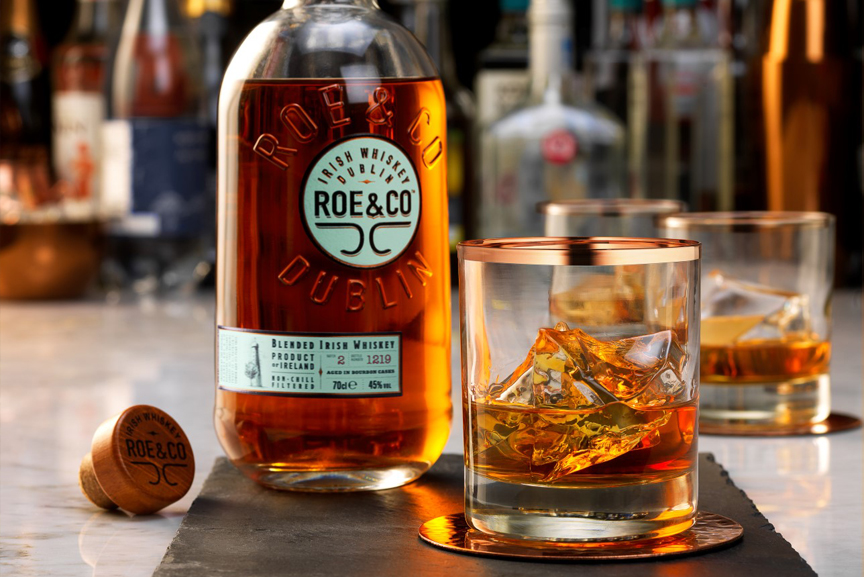 roe & co irish whiskey diageo