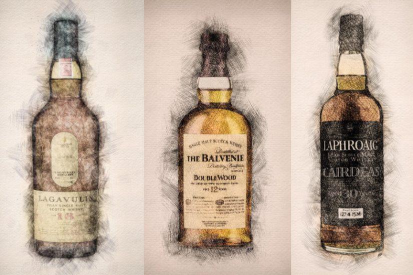 lagavulin balvenie laphroaig Likker Matthew Ray whisky
