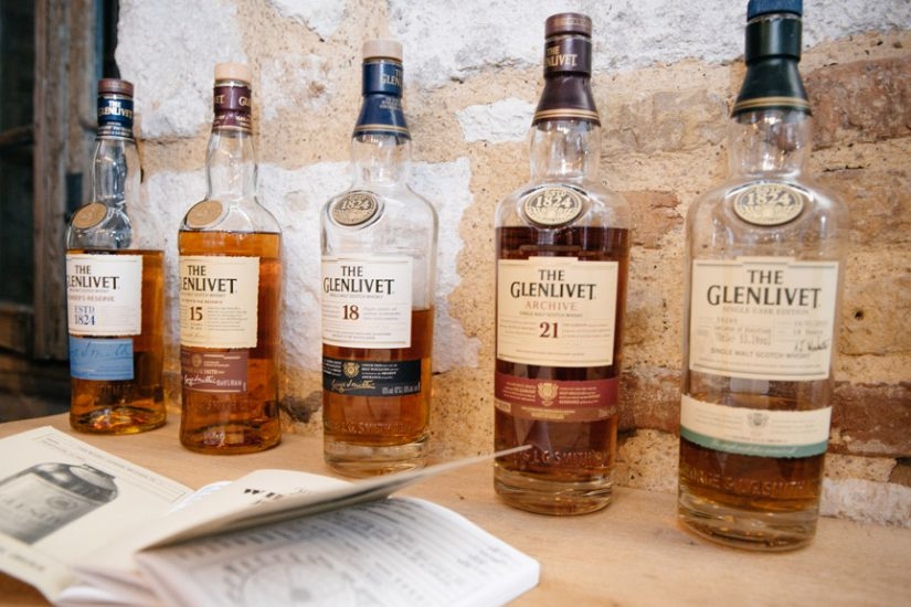 whisky tasting The Glenlivet the tasters club ουισκι