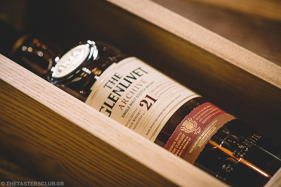 whisky tasting The Glenlivet 21 year old the tasters club ουισκι