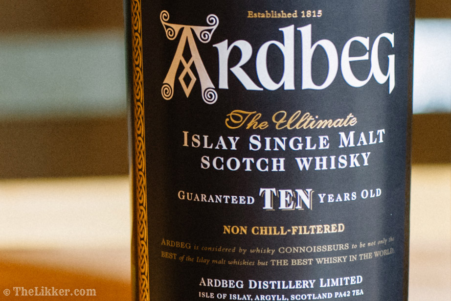 ardbeg ten whisky tasting