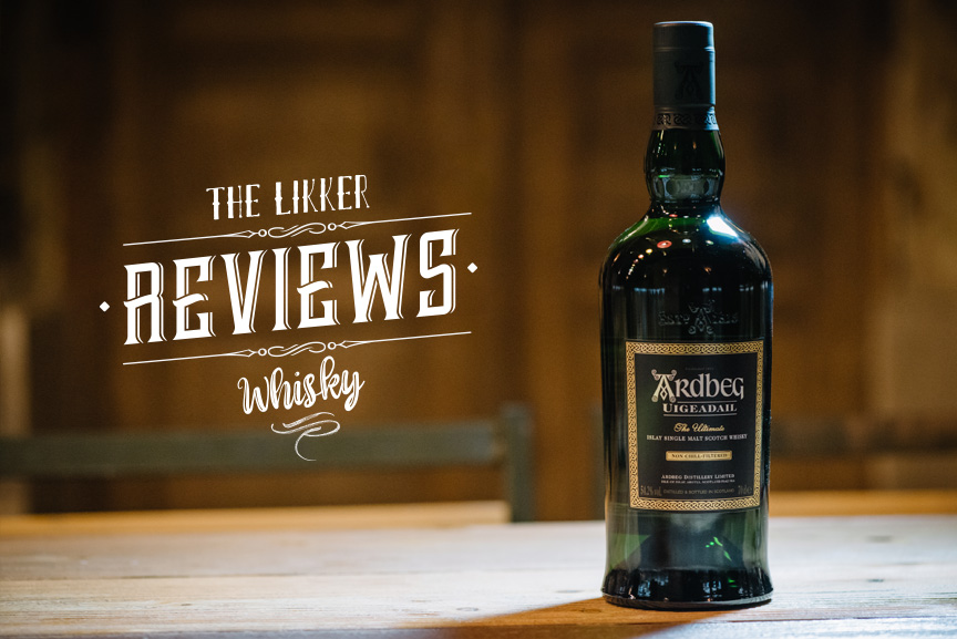 ardbeg uigeadail whisky review