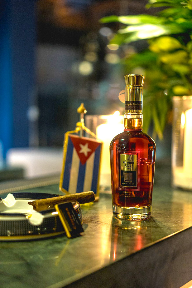 Havana Club Union rum ciggar the likker