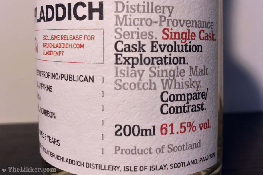 bruichladdich micro provenance laddiemp7 2431 the likker reviews