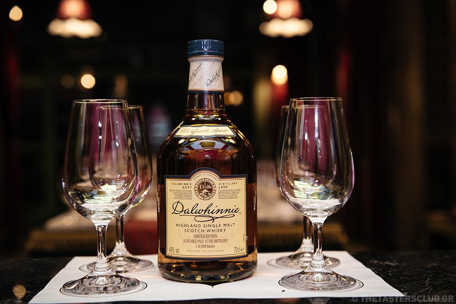 whisky tasting the tasters club noel ουισκι dalwninnie