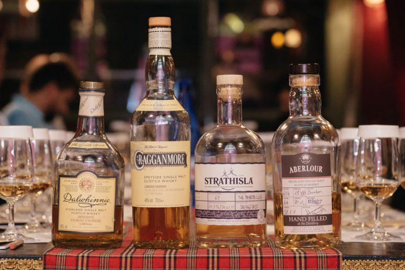 the tasters club whisky tasting day 16 noel dalwhinnie cragganmore strathisla aberlour