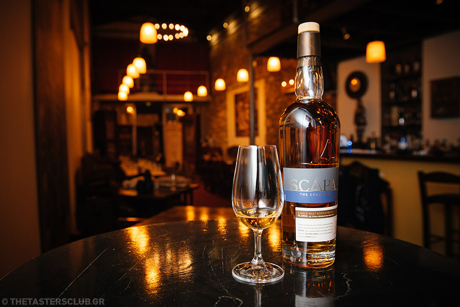 the tasters club whisky tasting Scapa ουσκι Avalon