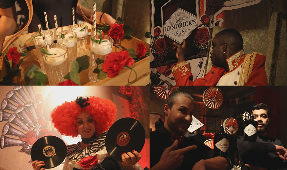 gin hendrick's gin circus