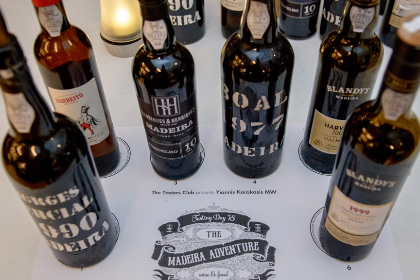 the tasters club wine tasting madeira electra metropolis