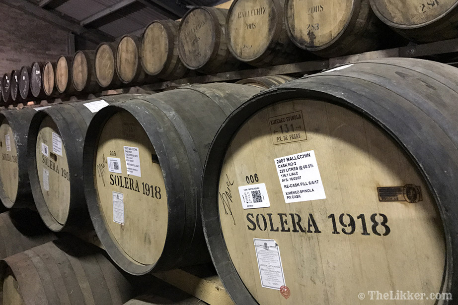 the tasters club the likker edradour whisky barrel solera ballechin