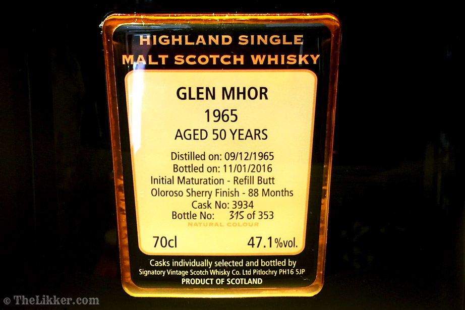 the tasters club the likker edradour whisky glen mhor
