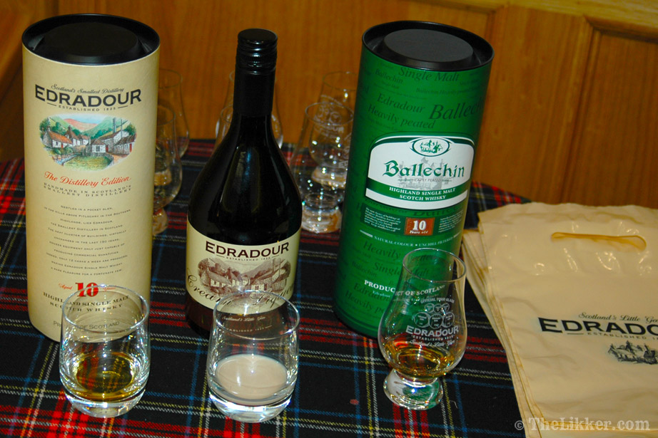 the tasters club the likker edradour whisky ballechin