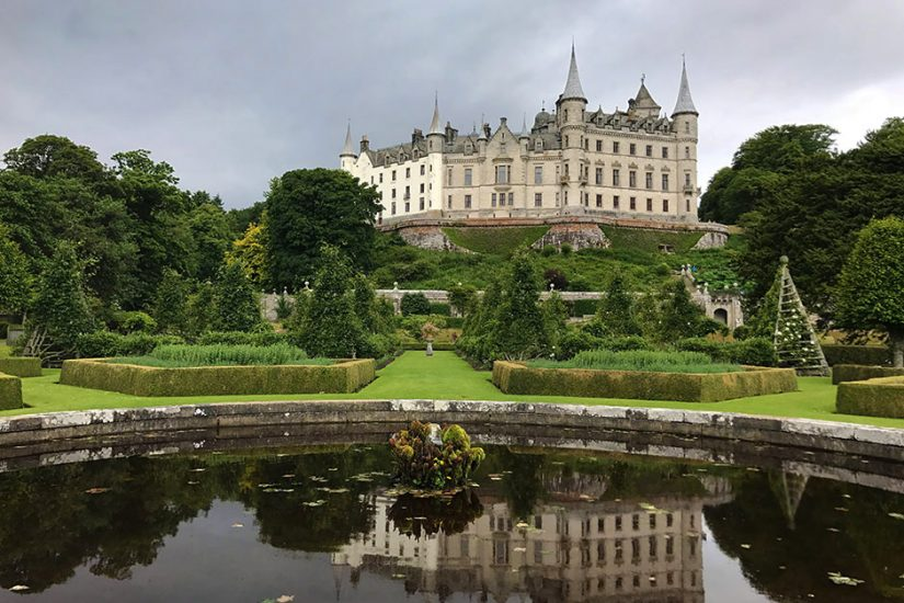 dunrobin castle sutherland whisky gardens