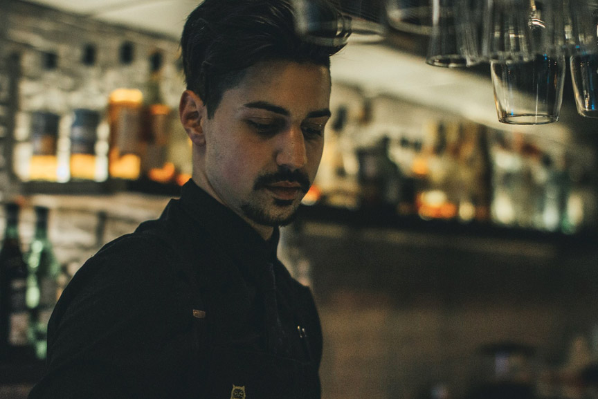 the likker behind the bar giorgos gianniotis