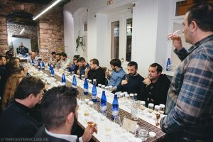 the tasters club whisky tasting day longmorn aberlour scapa impact hub ουισκι charizopoulos