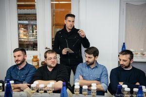 the tasters club whisky tasting day longmorn aberlour scapa impact hub ουισκι milionis