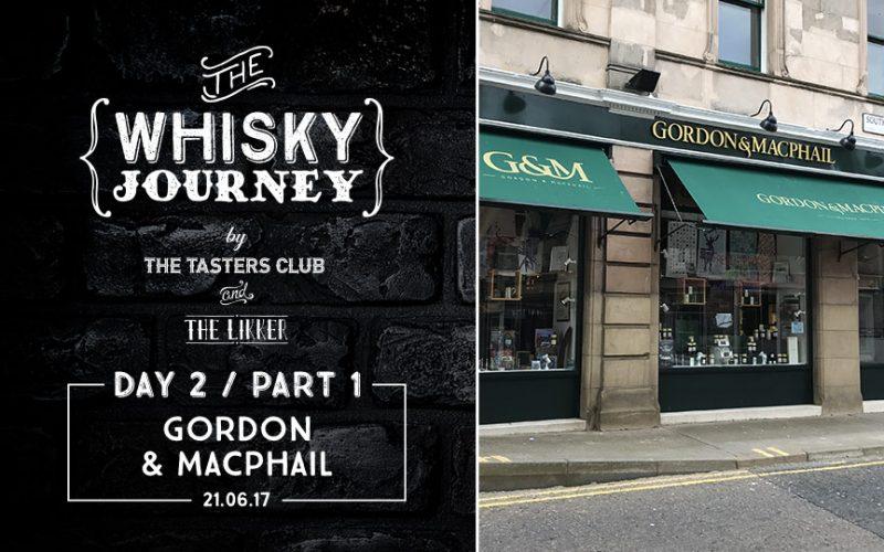 Gordon & MacPhail store elgin the likker whisky