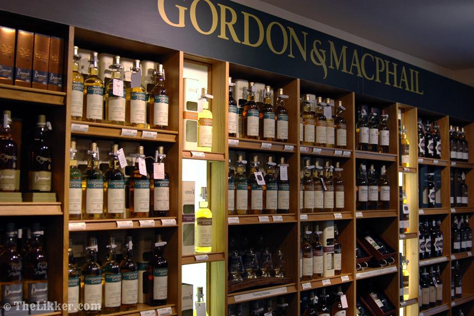 gordon and macphail Elgin the likker whisky