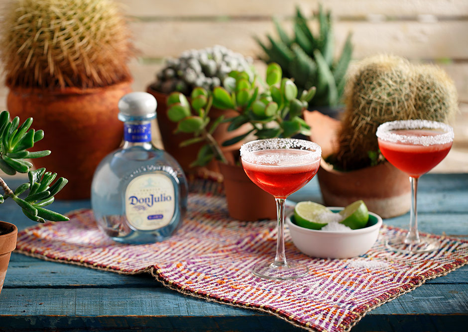DonJulio tequila cocktails